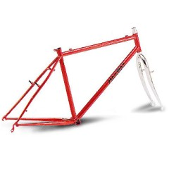 steel bike frame